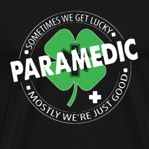 Irish Paramedic Shirt - Men's Premium T-Shirt