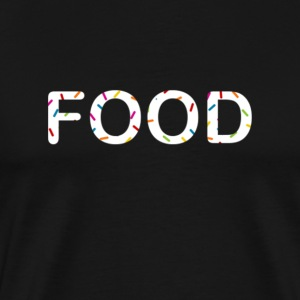 Fattboyy Food white Sprinkles - Men's Premium T-Shirt