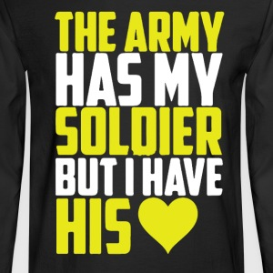 Army Girlfriend Shirt - Men's Long Sleeve T-Shirt