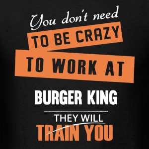 Burger King Shirt - Men's T-Shirt