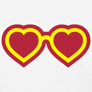 Love Glasses (eyes) T-Shirts - Women's T-Shirt
