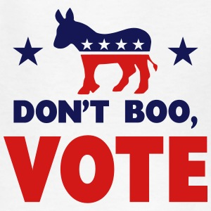 Don't Boo, Vote Kids' Shirts - Kids' T-Shirt