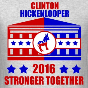 CLINTON HICKENLOOPER STRONGER TOGETHER - Men's T-Shirt