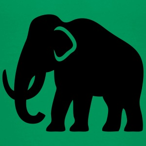 Mammoth (Ice-Age Elephant) Silhouette Baby & Toddler Shirts - Toddler Premium T-Shirt