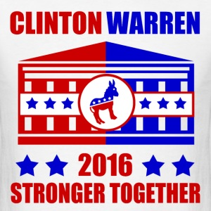 CLINTON WARREN STRONGER TOGETHER - Men's T-Shirt