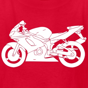 Racing Motorcycle Kids' Shirts - Kids' T-Shirt