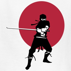 Japanese Ninja Samurai Warrior Kids' Shirts - Kids' T-Shirt