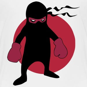 Japanese Boxing Ninja (Samurai Boxer) Baby & Toddler Shirts - Toddler Premium T-Shirt