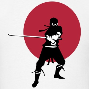 Japanese Ninja Samurai Warrior T-Shirts - Men's T-Shirt