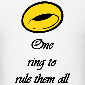 LOTR One ring to rule them all T-Shirts - Men's T-Shirt