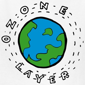 Earth's Ozone Layer Diagram for Kids Kids' Shirts - Kids' T-Shirt