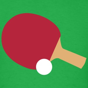 Ping Pong Bat & Ball T-Shirts - Men's T-Shirt