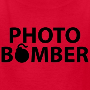 PHOTO BOMBER Kids' Shirts - Kids' T-Shirt