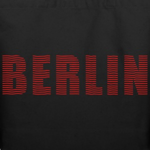 BERLIN line-font Bags & backpacks - Eco-Friendly Cotton Tote