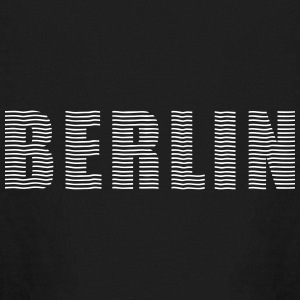 BERLIN line-font Kids' Shirts - Kids' Long Sleeve T-Shirt
