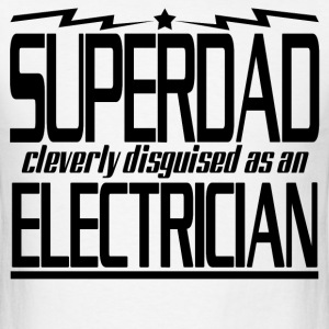 SUPERDAD ELECTRICIAN - Men's T-Shirt