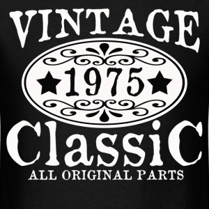 VINTAGE 1975 CLASSIC ALL ORIGINAL PARTS - Men's T-Shirt
