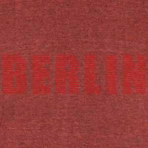 BERLIN line-font T-Shirts - Unisex Tri-Blend T-Shirt by American Apparel
