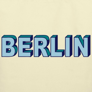 BERLIN Block Letters Bags & backpacks - Eco-Friendly Cotton Tote