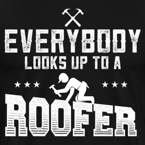 Roofer - Roofing - Men's Premium T-Shirt