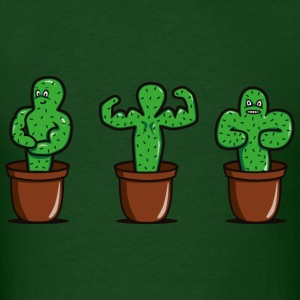 cactus bodybuilder T-Shirts - Men's T-Shirt
