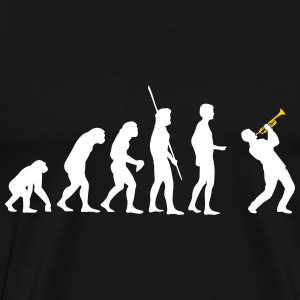 evolution Trompeter Shirt - Men's Premium T-Shirt