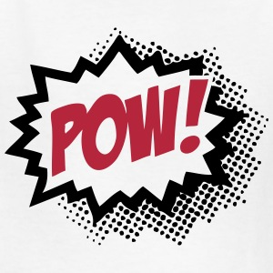 POW! (Cartoon Comic Word Sign) Kids' Shirts - Kids' T-Shirt