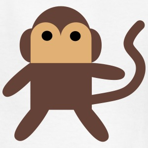 Cheeky Little Cartoon Monkey Kids' Shirts - Kids' T-Shirt