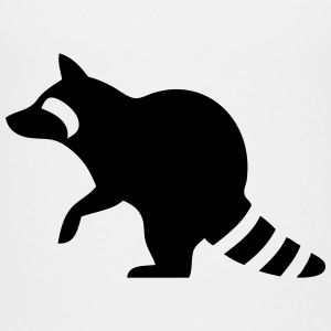 Raccoon Silhouette Baby & Toddler Shirts - Toddler Premium T-Shirt