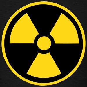Radiation Nuclear Symbol T-Shirts - Men's T-Shirt