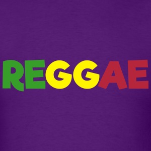 REGGAE (Flag Colors) T-Shirts - Men's T-Shirt