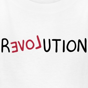 Revolution (LOVE) Kids' Shirts - Kids' T-Shirt