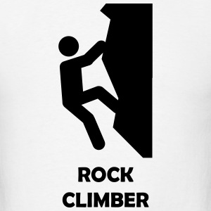 ROCK CLIMBER T-Shirts - Men's T-Shirt