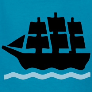 Sailing Sea Battle Ship Kids' Shirts - Kids' T-Shirt