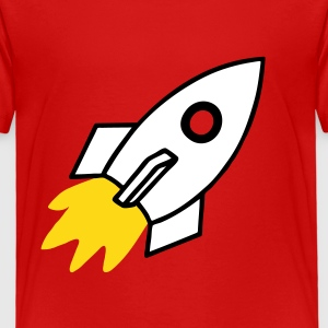 Cartoon Rocket Baby & Toddler Shirts - Toddler Premium T-Shirt