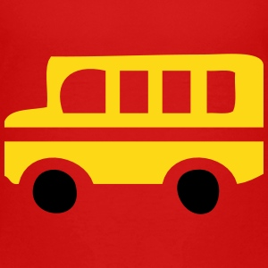 Yellow School Bus Silhouette Baby & Toddler Shirts - Toddler Premium T-Shirt
