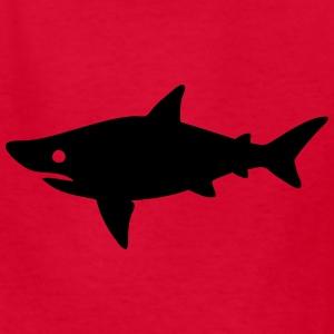 Shark Swimming Silhouette Kids' Shirts - Kids' T-Shirt