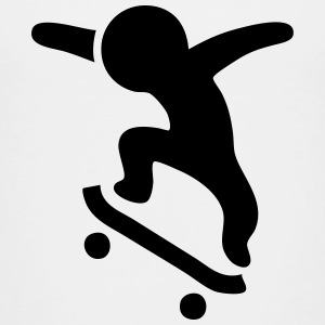 Skateboarding Jump Baby & Toddler Shirts - Toddler Premium T-Shirt