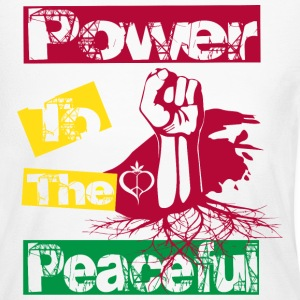 Power to the peaceful Long Sleeve Shirts - Women's Long Sleeve Jersey T-Shirt