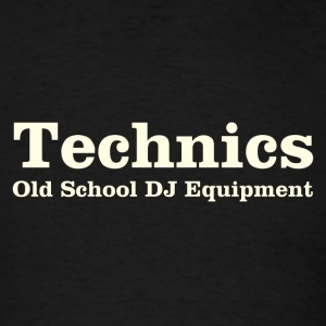 technics white - Men's T-Shirt