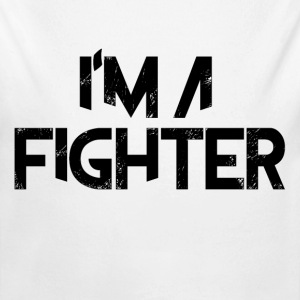 I'm A Fighter  Baby Bodysuits - Long Sleeve Baby Bodysuit