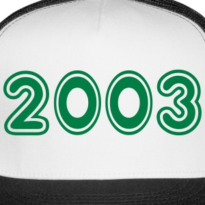 2003, Numbers, Year, Year Of Birth Sportswear - Trucker Cap