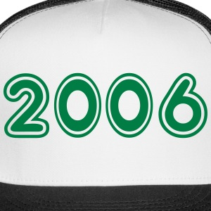 2006, Numbers, Year, Year Of Birth Sportswear - Trucker Cap