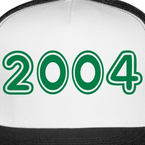 2004, Numbers, Year, Year Of Birth Sportswear - Trucker Cap