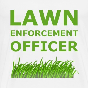 Lawn Enforcement Officer - Men's Premium T-Shirt