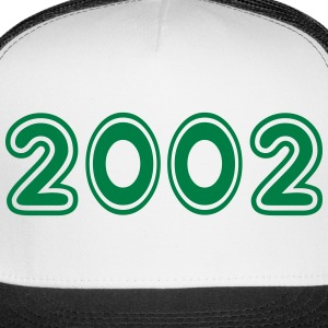 2002, Numbers, Year, Year Of Birth Sportswear - Trucker Cap