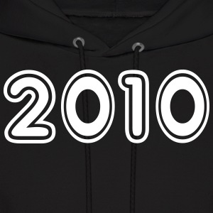 2010, Numbers, Year, Year Of Birth Hoodies - Men's Hoodie