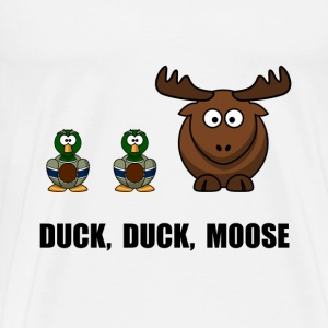 Duck Duck Moose - Men's Premium T-Shirt
