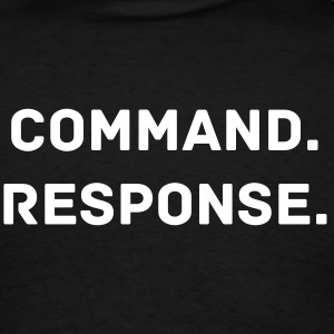 VIBE: Command. Response. - Men's T-Shirt