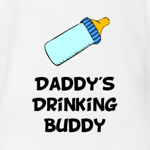 Drinking Buddy - Short Sleeve Baby Bodysuit